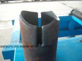 Автоматический автомат для резки для круглого локтя трубы и пересекая отверстия