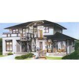 Steel standard Structure House e Steel Villa (SC-012)