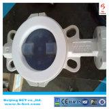 Beste Qualität, PTFE setzte Drosselventil mit Doppeltem verantwortliches pneumatisches Bct-F4bfv-14