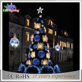 휴일 장신구 별 5m 옥외 LED 가벼운 크리스마스 나무