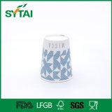 Бумажные стаканчики конструкции офсетной печати Non-Defrmation устранимые дешево рециркулированные