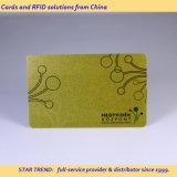 Cuatro tarjeta estándar del color Cr80 con la raya magnética para el salón de pelo