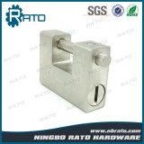 Cadeado retangular resistente do ferro com 5 chaves