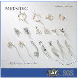 Piezas de automóvil modificadas para requisitos particulares del resorte del contacto del clave del coche de las piezas de metal