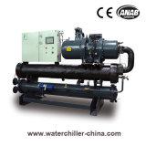 Wassergekühlter niedrige Temperatur-Schrauben-Wasser-Kühler