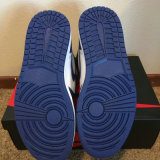 El deporte azul de los hombres de la alta tormenta retra barata de Og calza los zapatos de baloncesto de la zapatilla de deporte