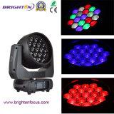 19*15W LED 소형 단계 점화 세척 급상승