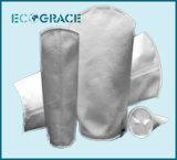 Bolso de filtro líquido del paño de la fibra de 100 PP del micrón para la industria (polipropileno)