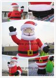 Nova Decoração de Natal Inflável de Papai Noel