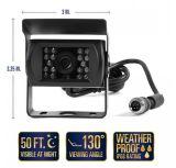 Macchina fotografica infrarossa di colore del CCTV con il suono