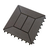 Assoalho ao ar livre do Decking Tile/Interlock de WPC DIY (DIY303023C)