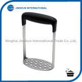 Schiacciatore della patata dell'acciaio inossidabile con la vasta e maniglia orizzontale ergonomica