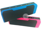 Haut-parleur extérieur portatif de Bluetooth de côté de pouvoir
