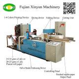 Полноавтоматическая двойная выбивая машина салфетки салфетки складывая