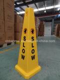 느린 지면 표시, 판매를 위한 교통 안전 콘