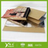 ペーパーによって薄板にされるアルミホイルの包装材料