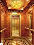 лифт пассажира отделки зеркала 800kg с дверью нержавеющей стали