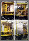 Zyd-150 (9000L/H) máquina usada do filtro de petróleo do transformador, máquina do tratamento do petróleo