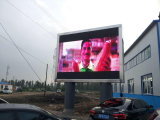 Uso al aire libre electrónico de la pantalla P10mm del LED