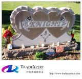 Monumento di figura del cuore del granito