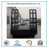 De l'exécution 4 d'essieux de Lowbed remorque fiable semi de fournisseur de la Chine
