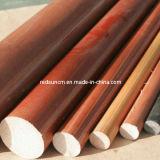 Tissu de coton phénolique Rod stratifié (3721)