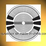 Rosette/cercle/jauge de contrainte ronde pour le détecteur de pression