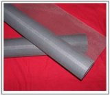 Pantalla revestida Anjia-301 de la ventana de la tela metálica del acoplamiento de la fibra de vidrio del PVC