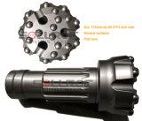 Abaixo do bit de tecla do furo Ql50-140mm DTH para o martelo Ql50