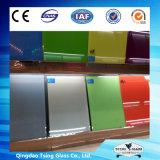 het Vlakke/Aangemaakte Geschilderde Glas van 38mm voor Decoration/Home Appliance/Splashback