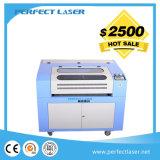 Precio plástico de la cortadora del grabado del laser del CO2 del MDF del acrílico de madera