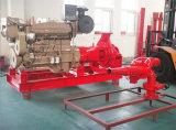 Pompes à incendie diesel d'acier inoxydable d'eau de mer Emergency 1800 R/Min