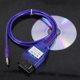 Cambiado para USB de BMW - OBD K + cable del diagnóstico de Dcan