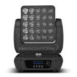 25*10W LED RGBW Matrix Madpanel bewegliches Hauptstadiums-Licht