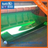 Transparentes dunkelgrünes Belüftung-steifes Blatt