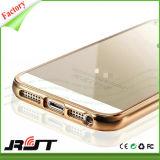iPhone Se (RJT-0196)를 위한 도금 TPU 케이스 덮개가 매우 Rosegold 호리호리한 뒤에 의하여 전기도금을 한다