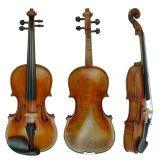 BV/SGS Bescheinigungs-Lieferant--- Alle feste Stradivarius Art-europäische materielle hoher Grad-geschnitzte Violine