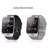 Intelligente Karte NFC Bluetooth Reloj Inteligente der Uhr-Gv18 der UnterstützungsSIM für iPhone androides Telefon Smartwatch