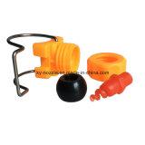 A braçadeira ajustável do plástico instala o bocal de pulverizador espiral