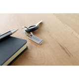 Mini movimentação chave do flash do USB do alumínio com logotipo personalizado