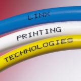 Marca de máquina de laser de fibra de tipo CNC no pára-choque do telefone