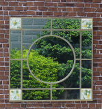 جديدة تصميم معدن حديقة مرآة لأنّ زخرفة