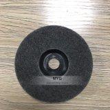 灰色カラー非編まれた磨くディスク