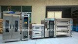 パン屋装置、3デッキの9皿の贅沢な電気オーブン