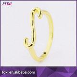 Het speciale Goud van het Koper van het Ontwerp plateerde Unisex-Ringen