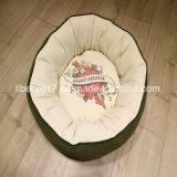 Qualitäts-Hundebett-Haustier-Kissen-rundes Hundebettwäsche-Haustier-Zubehör