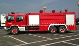 6X4 Isuzu 12のTの水漕の消防車12000 L水消火活動のトラック