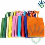 Tela não tecida a favor do meio ambiente elevada de 100% PP para o saco de compra