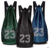 큰 수용량을%s 가진 승진 그리고 농구를 위한 폴리에스테 졸라매는 끈 책가방