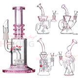 420 Gesellschaft-Fabrik-Großverkauf-Mischfarbeneuer Hitman-starke und starke Glas/Glaspfeife